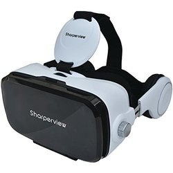 Supersonic SV-849VR Virtual Reality VR 3D Video Game Glasses with Headphones 1732781
