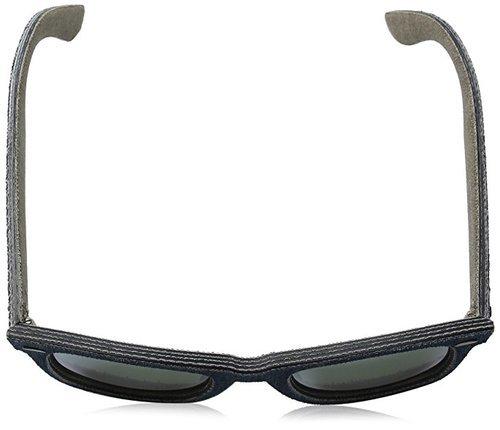 9c6679bc4c ... Rayban Denim Unisex Sunglasses - Blue Green (RB2140-119430-50) ...