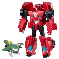 Force Activator Combiners Sideswipe and Great Byte Action Figure 1738349