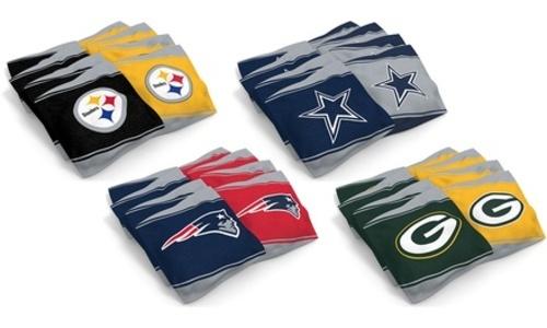 Nfl Xl Home Away Bean Bag Set 8 Pack Dallas Cowboys