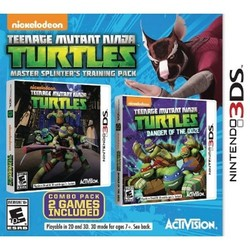 TMNT Bundle: Master Splinter's Training Pack Nintendo 3DS 1749044