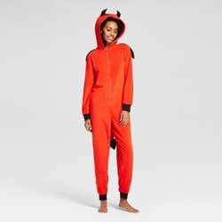 Women's Devil Union Suit with Wing - Xhilaration  Red XXL 1751730