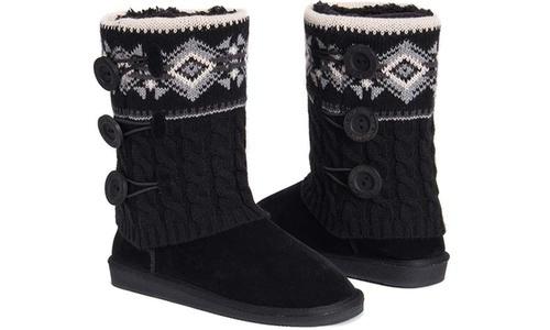 9b8eb608cc5907 Muk Luks Women s Cheryl Boots - Black - Size 9 - Check Back Soon - BLINQ