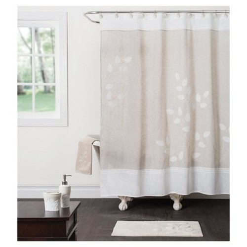 Saturday Knight Ltd Forest Path Fabric Shower Curtain
