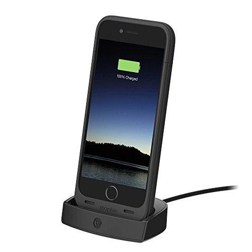 online retailer 60c67 23231 mophie Juice Pack Charging Dock For iPhone 6/6s - Black
