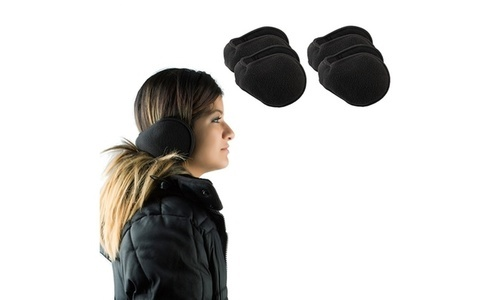 37305acc8d Royal Boudoir Unisex Fleece Earmuffs 4 Pack - Black - Size One Size ...