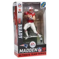 huge discount 11dd6 ebb4f NFL Madden 18 Tom Brady Color Rush Action Figure