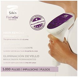 Silk'n New Flash & Go Hair Removal Device