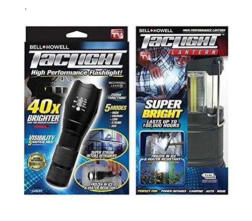 Bell + Howell 1695 Taclight Flashlight and Lantern Ultimate Camping Bundle  - Check Back Soon