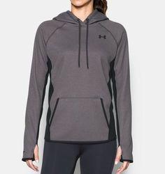 Under Armour Women's  Storm Fleece Hoodie - Carbon Heather - Size: Medium 1707828