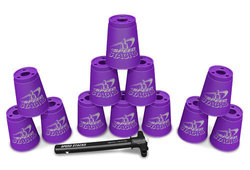 Speed Stacks Sport Stacking Cup Set For Kids - Purple 1764746