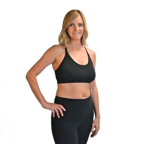 a04b0b264009c Bamboobies Yoga Nursing Bra - Black - Size  Small - Check Back Soon ...