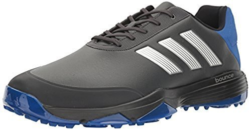 cheap for discount 792d0 1ecb9 Adidas adiPower Bounce Mens Golf Shoes - Carbon Silver Metallic - Size ...