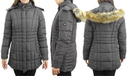 Galaxy by Harvic Women's Quilted Puffer Jacket