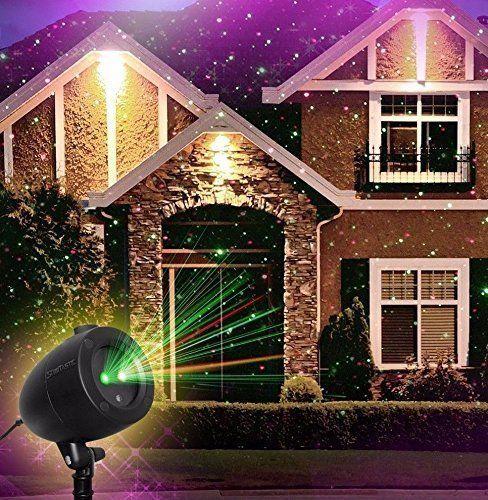 startastic holiday light show projector laser light 1828