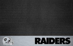 Fanmats NFL Oakland Raiders Vinyl Grill Mat (12196)