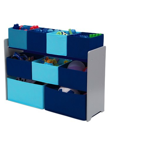 Delta Children Deluxe Multi Bin Toy Organizer With Storage Bins