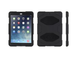 Griffin Survivor Case for iPad Air with Stand - Black (GB36307)