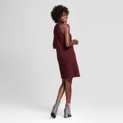 Xhilaration Junior Women's High Neck Sweater Dress - Plum - Size:XL 1807307