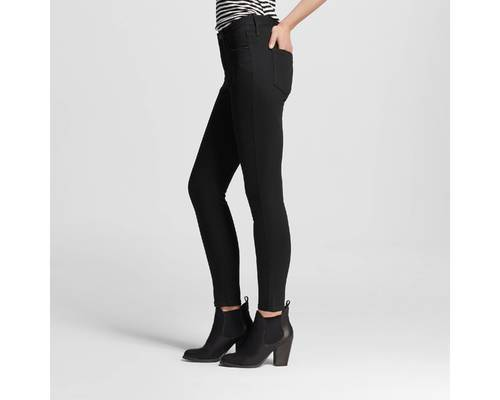 ad7e2ec17 Mossimo Women s High-Rise Skinny Jeans - Black - Size  0R - Check ...