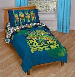 Nickelodeon Teenage Mutant Ninja Turtles Piece Toddler Bedding Set 4 1822483
