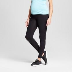 Isabel Women's Maternity Panel Active Leggings - Black - Size:L 1823576