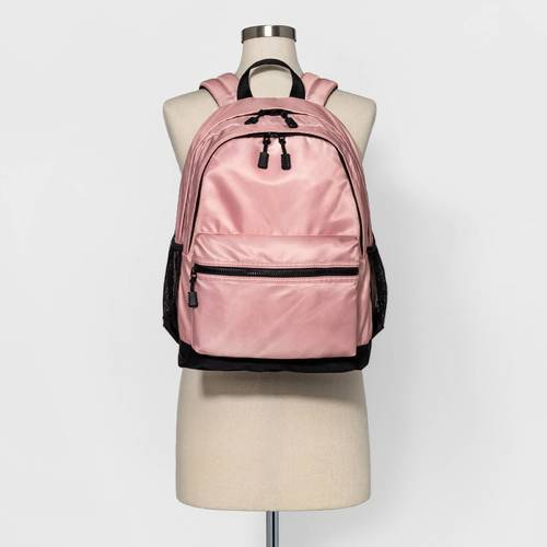 2a487d6e2df ... Pink Mossimo Supply Co. Women s Multi-Compartment Dome Backpack - Blush  ...