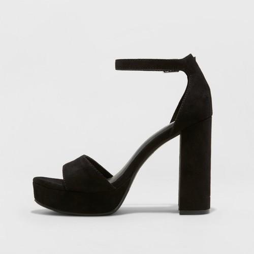 482ab05ce9 Mossimo Supply Co. Women's Fabiola Platform Heel Pumps - Black ...
