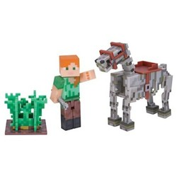 Minecraft Alex with Skeleton Horse Pack 1840402