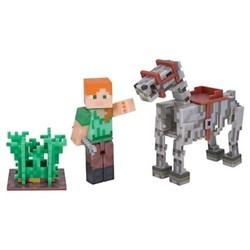 Minecraft Alex with Skeleton Horse Pack 1840402