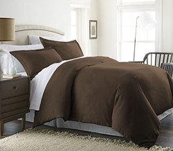 Deals on Merit Linens Luxury Ulta Soft 3 Piece Duvet Cover Set King