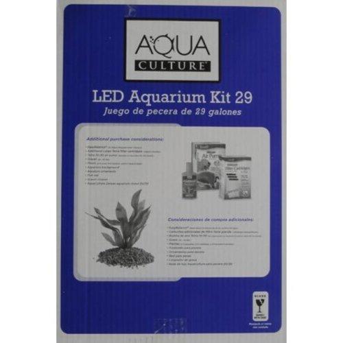 Aqua Culture 29 Gallon Aquarium Starter Kit with LED - Clear (NV33123) -  Check Back Soon