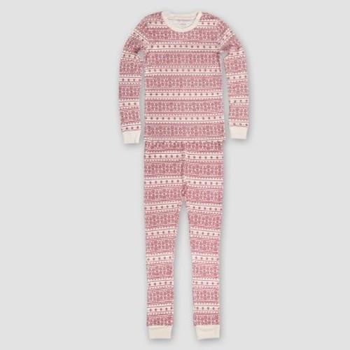 4ef3fad60 Burt's Bees Baby Kid's Organic Cotton Fair Isle Pajamas Ivory L - Check  Back Soon - BLINQ
