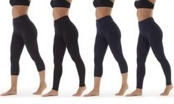Marika Women's Tummy Control Bottoms Leggings - Heather Charcoal - Size:M 1871537