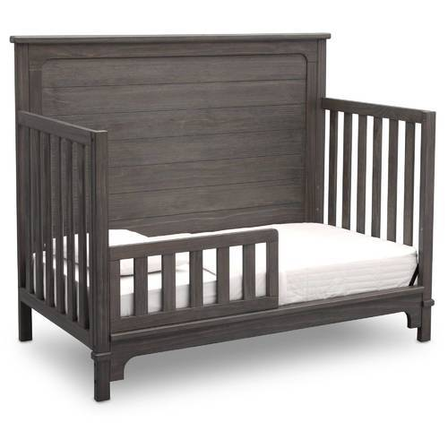 Simmons Kids Monterey 4 In 1 Convertible Crib Rustic Gray Size