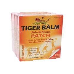 "Tiger Balm Patch - Pain Relieving Patch - Size: 4""x2.75"""