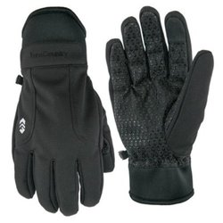 Free Country Men's Outdoor Softshell Gloves - Black - Size:M/L 1875425