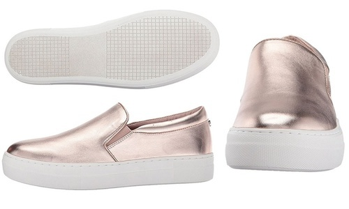 Fashion Sneakers - Gills-Rose Gold