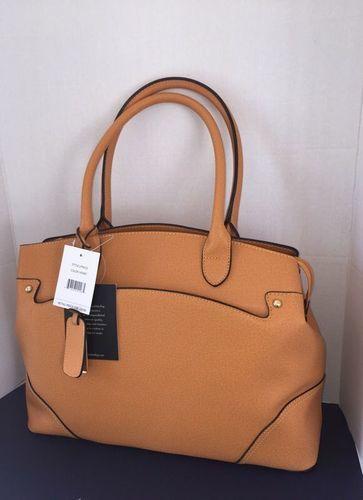 London Fog Women S Large Handbag Honey Lfp6525