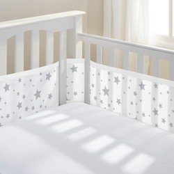 BreathableBaby Mesh Crib Liner - Star Light