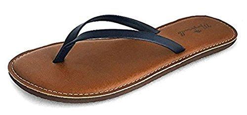 a035b8c80306a ... Margaritaville Women s Flat Flip-Flop Sandals - Navy - Size 6 ...