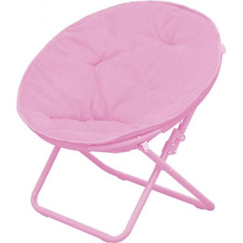American Kids Solid Faux Fur Saucer Chair Pink Check Back Soon Blinq
