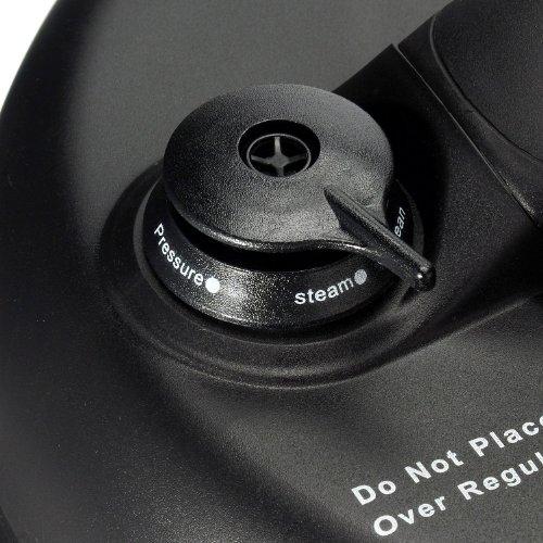 Big Boss 1300-Watt Stainless Steel Oval Pressure Cooker 8.5-Quart