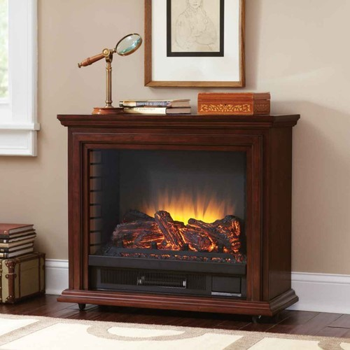 Twin Star Infragen Rolling Mantel Electric Fireplace 23irm7491 W50