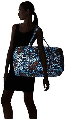 ... Vera Bradley Signature Large Duffel 2.0 Java Floral Travel Bag - Multi  ... 80575449b6163