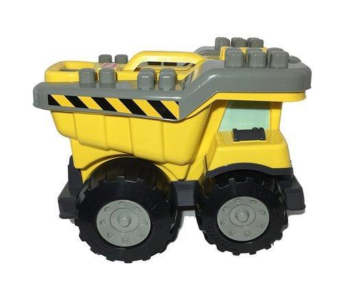 Tow N Go >> Tonka 40 Piece Mighty Builders Tow N Go Tuff Truck Block Play Set