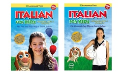 Language Tree Foreign Language for Kids Beginner DVD Sets: Italian