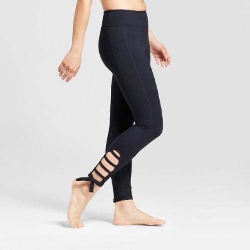 ead329c89 ... Size XXL JoyLab Women s 7 8 Comfort Side Tie Leggings - Black ...