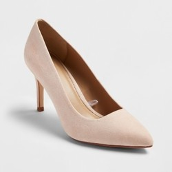 A New Day Women's Shades of Nude Pointed Toe Pumps - Mochaccino - Size:7 1914001