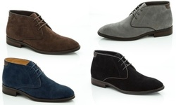Adolfo Men's Charles Faux-Suede Chukka Boots -